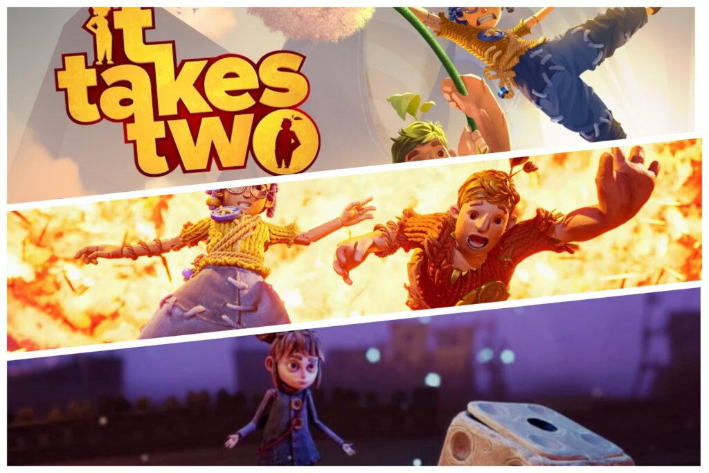 Its Takes Two upcoming games 2021