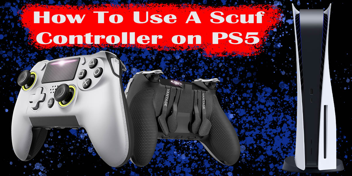 Scuf Controller on PS5