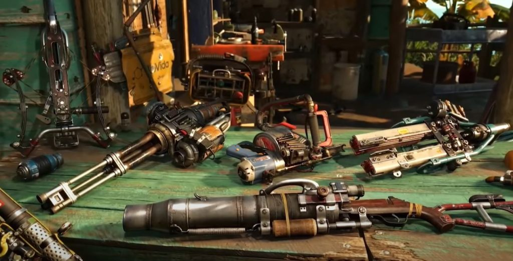 Weapons Far cry 6