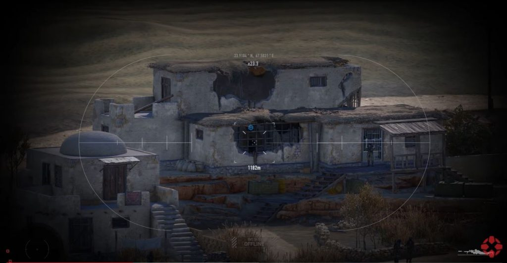 Sniper Ghost Warrior Contracts shoots