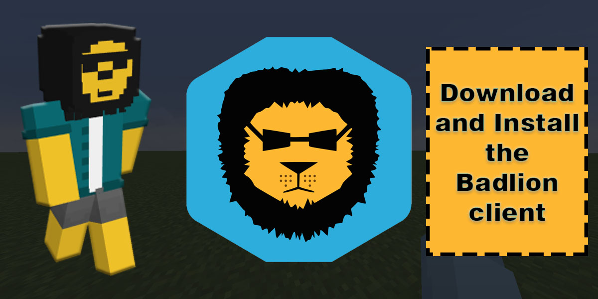 install the Badlion client
